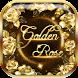 Golden rose diamond Keyboard by artant