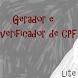  Gerador de CPF Lite by Lucas Waiteman Bastos