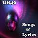 UB40 Songs&Lyrics by andoappsLTD