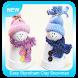Easy Styrofoam Clay Snowman Ornaments by Sombrero Studio