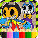 Bendy Coloring Book New by Bims Mobi
