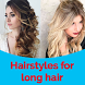 Hairstyle for Long Hair Girls Videos 2017 by Art Learning Studio