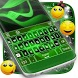 Neon Green Keyboard by New Emojis Keyboard Themes