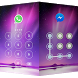 AppLock Aurora by freejoythemes