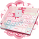 Flower Color Theme&Emoji Keyboard by Cool Keyboard Theme Design