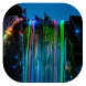 Neon waterfall live wallpaper by Gopastido
