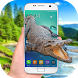 Crocodile on screen - Live wallpaper crocodile by Prank Entertainment