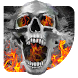 Fire Skull Deadly Android Live wallpaper by android themes & Live wallpapers