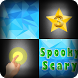 Piano Tiles for Spooky Scary
