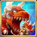 Dino Battle - The beginning of the war