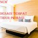 desain tempat tidur pribadi by usie demorean