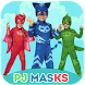 pj catboy masks : photo editor ( sticker's )