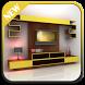 TV Shelves Design by atifadigital