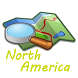 North America Map by Stvic46 Apps