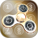 Fidget Spinner Phone Lock Screen App by Funny Five Playground