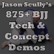 875+ BJJ Technique Demos by Grapplers Guide