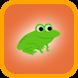 Skeme Frog by Blue Spring Studio