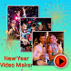 Happy New Year Photo Video Maker by Creta Mobile Apps
