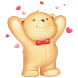 Live teddy bears by Creative work