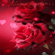 Red Rose Butterfly LWP by Daksh Apps