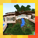Modern House in the Mountain. Map for MCPE by Abubakar
