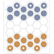 Hexers - hexagonal checkers by Craftific