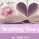 WEDDING VOWS by Supportive Apps LLP