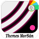 BlackSánPink Circle | Xperia™ Theme by Themes MorSán