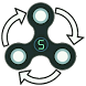 SPINSTO Fidget Hand Spinner by DOBOOK PRODUCTION