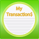My Transactions Income Expense by Nepal Software Developer