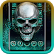 Metal Skull Launcher Theme 2018 by Weather Widget Theme Dev Team