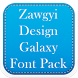 Zawgyi Design Galaxy Font Pack by Fancy Font For U