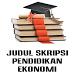 Judul Skripsi Ekonomi by Shidiq Studio