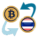 Bitcoin x Thai Baht by Currency Converter X Apps