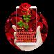 Heart Roses Keyboard by Designer Superman