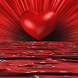 Red Heart Water LWP by Daksh Apps