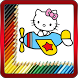 Coloring Book for Kitty Cat by Lolita Coloring