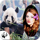 Giant Panda Photo Frame by aim apps studio