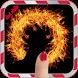 كتابة إسمك بالنار بإصبعك2016 by app prof