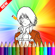 how to color attack on titan by ZouDev