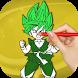 Super Saiyan Coloring Game by ColoringBooks