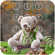 Teddy Bear Keypad Lock Screen by shree maruti plastic