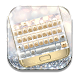 Gold And Silver Keyboard Theme by Echo Keyboard Theme