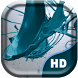 Turquoise Paint Splash Live by Quentin Country Design