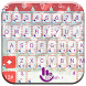 Keyboard Theme Christmas Snow by Luklek