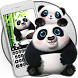 Cute panda keyboard by artant