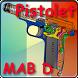 Pistolet MAB D expliqué by Gerard Henrotin - HLebooks.com