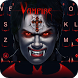 Keyboard - Vampire Scary Free Emoji Theme by Kika Free Theme