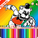 Coloring Book FNAF World Fans by +50.000.000
