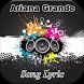 Ariana Grande Song Lyric by Jack Black